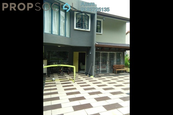 For Rent Semi-Detached at Taman Kelab Ukay, Bukit Antarabangsa Freehold Fully Furnished 5R/5B 3.5k