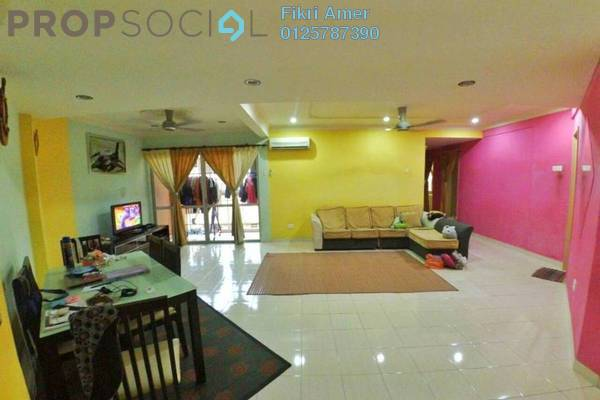For Sale Apartment at Zamrud Apartment, Old Klang Road Freehold Unfurnished 3R/2B 400k