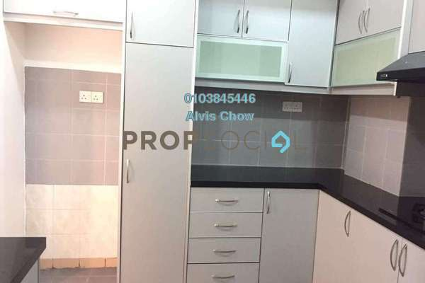 For Rent Condominium at Bayu Tasik 1, Bandar Sri Permaisuri Freehold Semi Furnished 3R/2B 1.5k