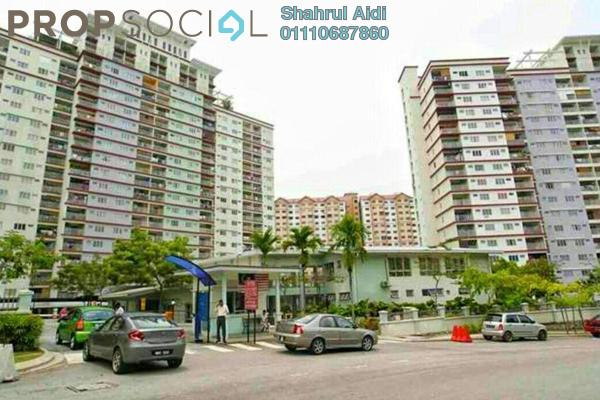 For Sale Condominium at Vista Amani, Bandar Sri Permaisuri Freehold Fully Furnished 4R/2B 400k