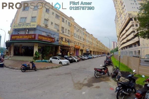 For Sale Condominium at Taman Serdang Perdana, Seri Kembangan Freehold Semi Furnished 3R/1B 150k