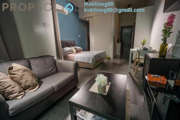 For Sale Apartment at Arte +, Jalan Ampang Freehold Semi Furnished 1R/1B 315k