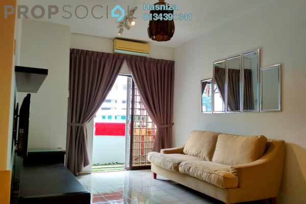 For Sale Condominium at Bougainvilla, Segambut Freehold Fully Furnished 3R/2B 439k