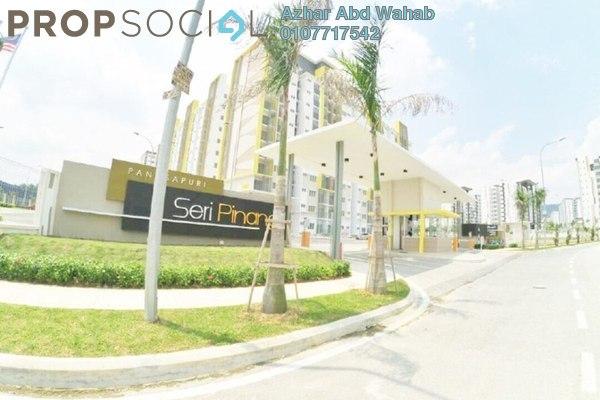 For Sale Apartment at Seri Pinang Apartment, Setia Alam Freehold Unfurnished 3R/2B 315k
