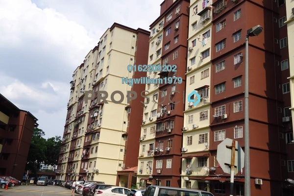 For Rent Apartment at Cemara Apartment, Bandar Sri Permaisuri Freehold Unfurnished 3R/2B 1.3k