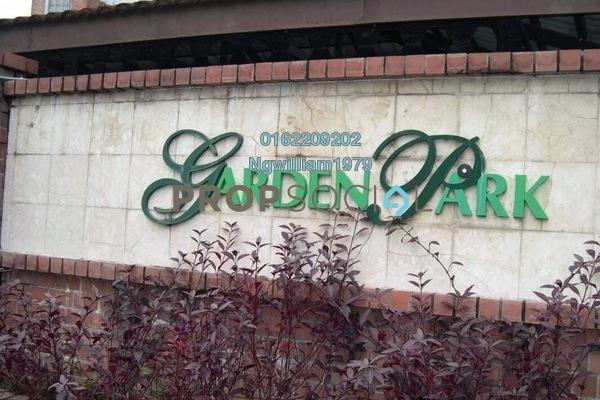 For Rent Condominium at Garden Park, Bandar Sungai Long Freehold Unfurnished 3R/2B 800translationmissing:en.pricing.unit