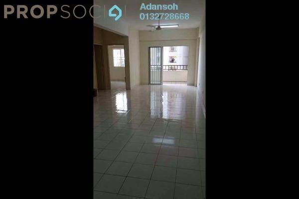 For Rent Apartment at Vista Mutiara, Kepong Freehold Semi Furnished 3R/2B 1.3k