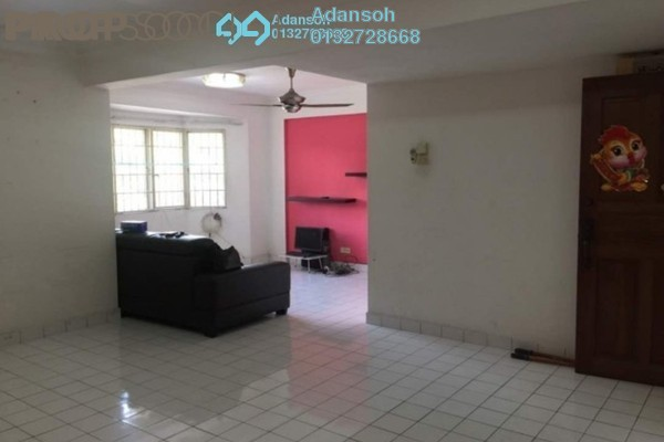 For Sale Apartment at Desa Dua, Kepong Freehold Semi Furnished 3R/2B 288k