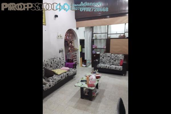 For Sale Terrace at Taman Sri Bintang, Kepong Freehold Semi Furnished 3R/2B 690k
