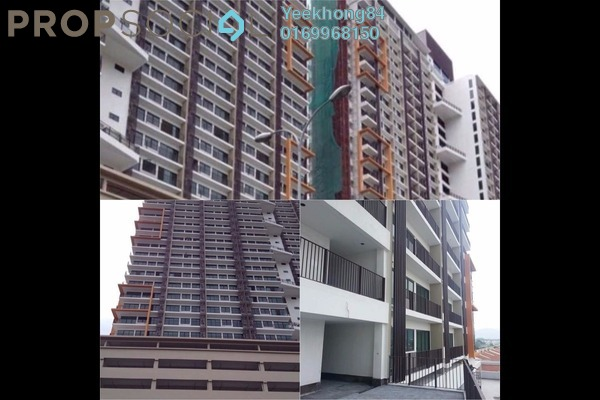 For Rent Serviced Residence at Dex @ Kiara East, Jalan Ipoh Freehold Fully Furnished 2R/1B 1.8k