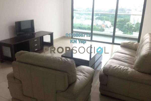For Rent Condominium at KL Palace Court, Kuchai Lama Freehold Fully Furnished 3R/2B 2.2k