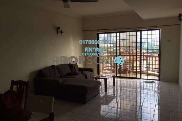 For Rent Condominium at Abadi Villa, Taman Desa Freehold Semi Furnished 3R/2B 1.7k