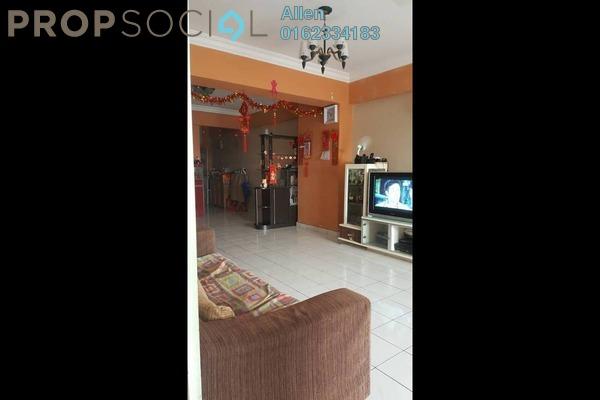 For Sale Condominium at Endah Ria, Sri Petaling Freehold Semi Furnished 3R/2B 380k