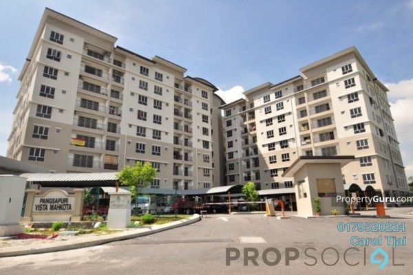 For Rent Apartment at Vista Mahkota Apartment, Bandar Mahkota Cheras Freehold Semi Furnished 3R/2B 1k