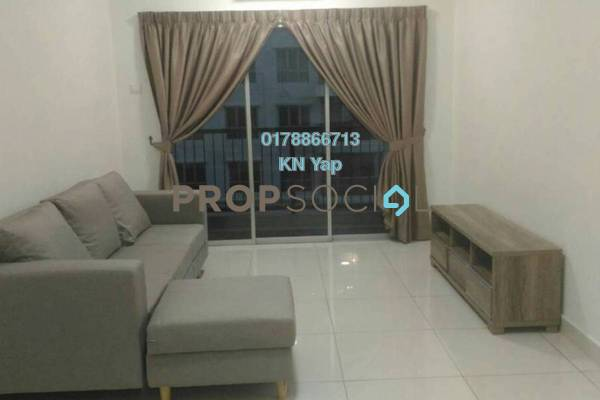 For Rent Serviced Residence at Spring Avenue, Kuchai Lama Freehold Fully Furnished 3R/2B 2.2k