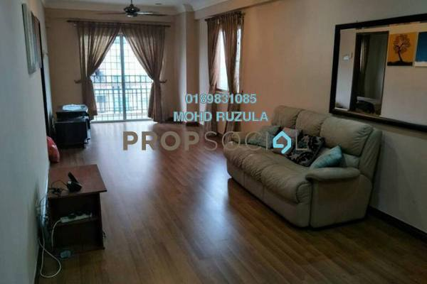 For Sale Condominium at Langat Jaya, Batu 9 Cheras Freehold Semi Furnished 3R/2B 335k