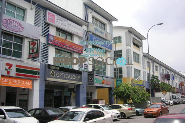 For Rent Office at Dataran Dwitasik, Bandar Sri Permaisuri Freehold Semi Furnished 0R/2B 2.3k