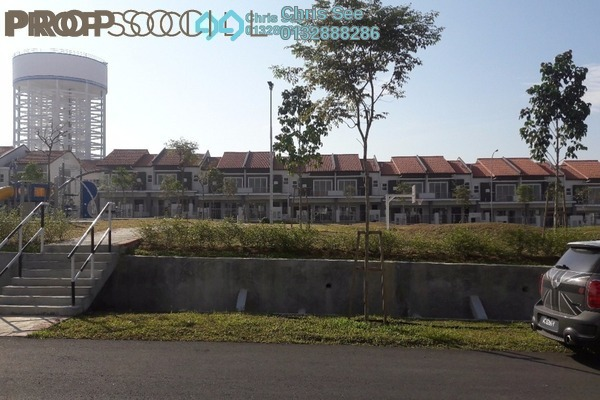 For Rent Terrace at Ixora Residences, Bandar Seri Coalfields Freehold Unfurnished 4R/4B 1k