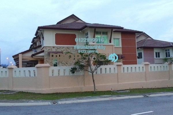 For Rent Terrace at Alam Nusantara, Setia Alam Freehold Unfurnished 4R/3B 2k