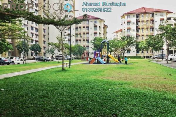 For Sale Apartment at Seri Ixora Apartment, Shah Alam Freehold Unfurnished 3R/2B 290k