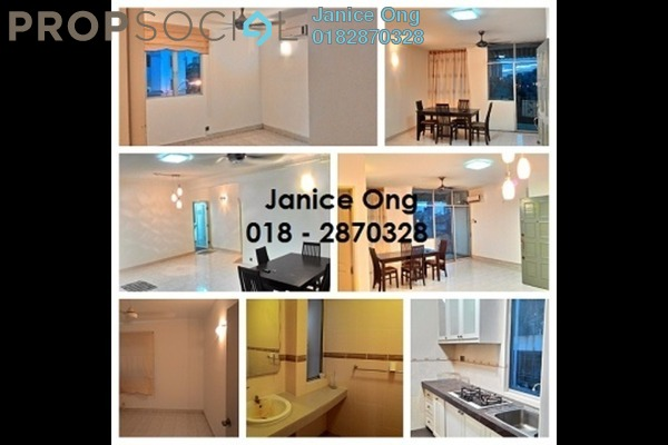For Rent Apartment at Manor Apartment, Cheras Freehold Semi Furnished 3R/2B 1.6k