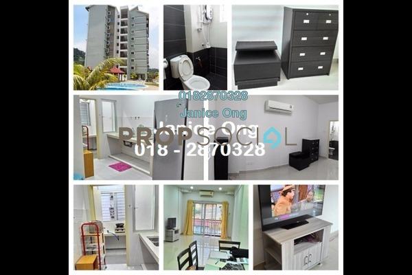 For Rent Condominium at Tiara Hatamas, Cheras Freehold Semi Furnished 3R/2B 1.2k