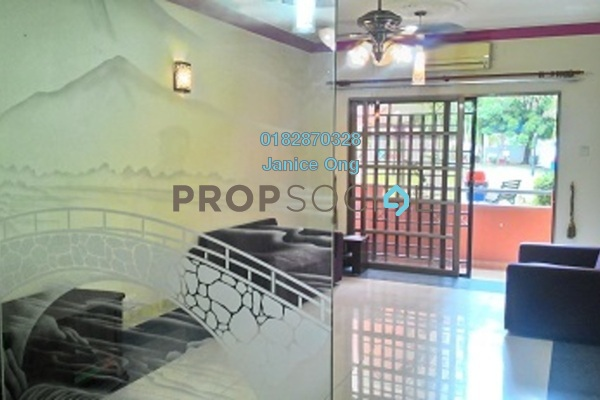 For Rent Apartment at Pelangi Heights, Klang Freehold Fully Furnished 2R/2B 1.2k