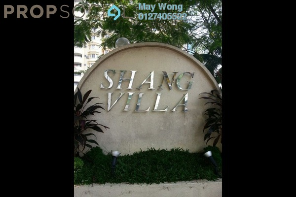 For Sale Condominium at Shang Villa, Kelana Jaya Freehold Semi Furnished 2R/2B 520k