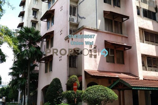 For Sale Condominium at Ixora Apartment, Pudu Freehold Unfurnished 3R/2B 378k