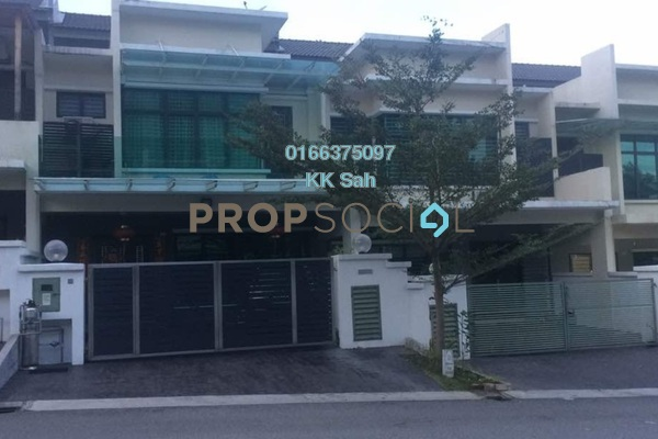 For Sale Superlink at Bandar Damai Perdana, Cheras South Freehold Fully Furnished 5R/5B 1.15m