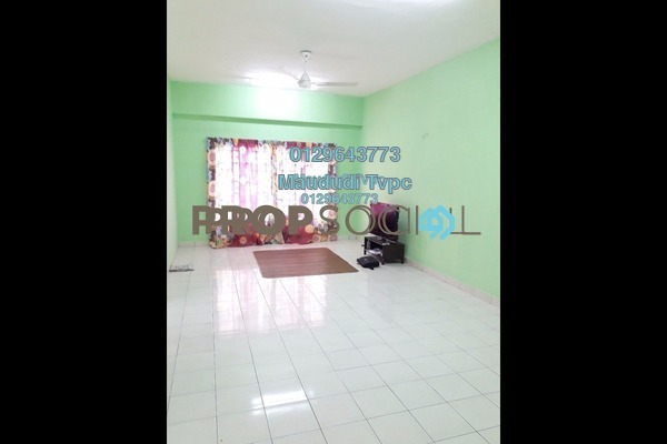 For Rent Apartment at Casa Suria, Batu 9 Cheras Freehold Semi Furnished 4R/3B 1.1k