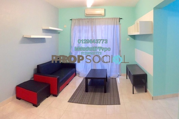 For Sale Condominium at Anggun Puri, Dutamas Freehold Semi Furnished 3R/2B 470k
