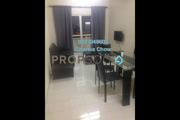 For Rent Apartment at Puteri Bayu, Bandar Puteri Puchong Freehold Fully Furnished 3R/2B 1.3k