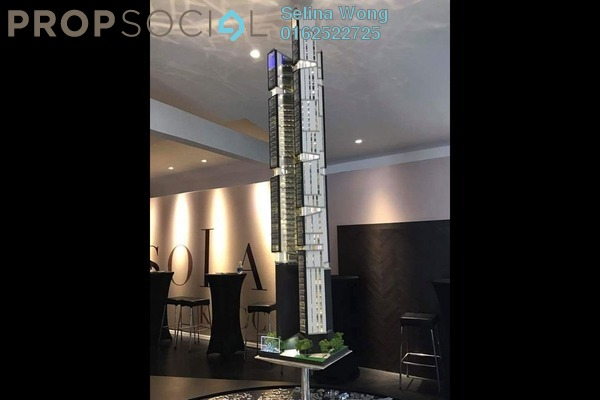 For Sale Condominium at Isola KLCC, Kuala Lumpur Freehold Semi Furnished 2R/2B 1.67m