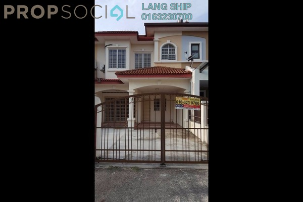 For Rent Terrace at Puteri 6, Bandar Puteri Puchong Freehold Semi Furnished 4R/4B 1.6k