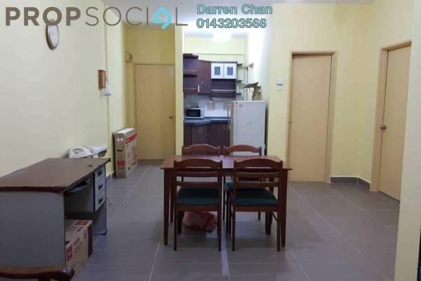 For Rent Apartment at Danau Murni, Taman Desa Freehold Semi Furnished 3R/2B 1.5k