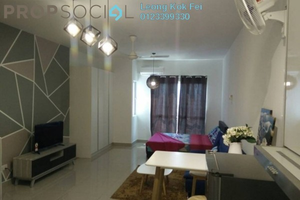 For Rent Condominium at Galleria, Cyberjaya Freehold Fully Furnished 0R/1B 1.2k