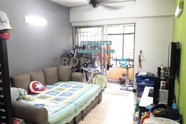 For Sale Apartment at SD Apartments, Bandar Sri Damansara Freehold Semi Furnished 3R/2B 420k