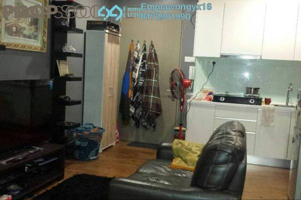 For Rent SoHo/Studio at ZetaPark, Setapak Freehold Fully Furnished 0R/1B 1.7k