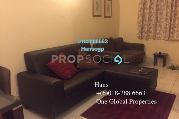 For Rent Condominium at Riana Green, Tropicana Leasehold Fully Furnished 2R/1B 1.65k