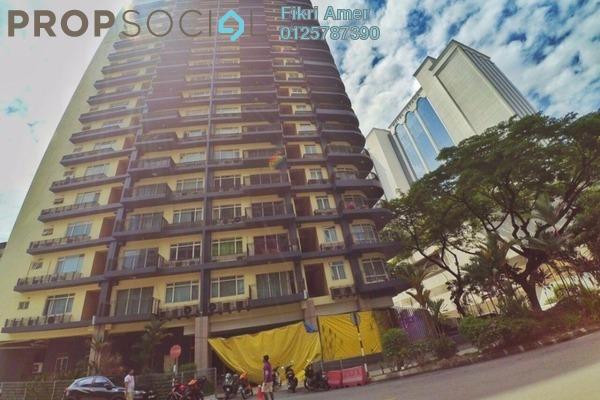 For Sale Condominium at 38 Bidara, Bukit Ceylon Freehold Semi Furnished 2R/2B 600k