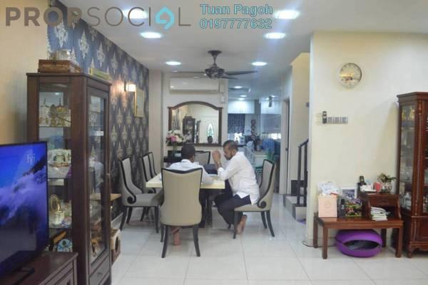 For Sale Terrace at Taman Batu, Jinjang Freehold Fully Furnished 4R/4B 1.39m
