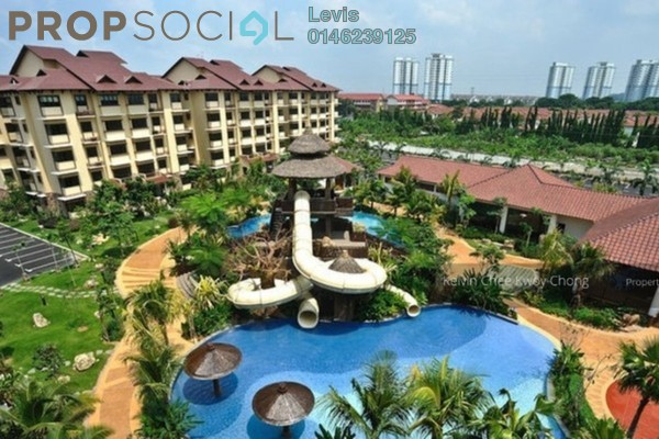 For Rent Condominium at Desa Idaman Residences, Puchong Freehold Fully Furnished 3R/2B 1.5k