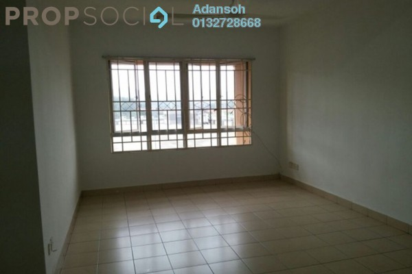 For Rent Apartment at Plaza Metro Prima, Kepong Freehold Unfurnished 3R/2B 1.3k