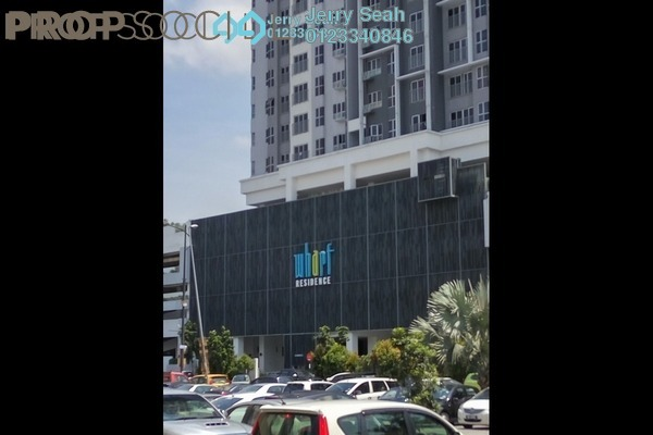 For Rent Serviced Residence at The Wharf, Puchong Freehold Semi Furnished 2R/2B 999translationmissing:en.pricing.unit