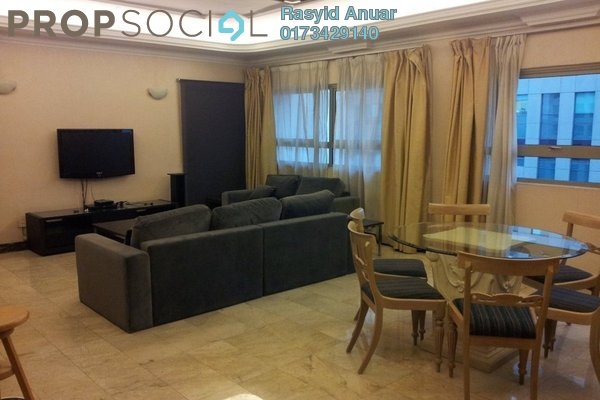 For Rent Serviced Residence at Crown Regency, KLCC Freehold Fully Furnished 3R/3B 5k