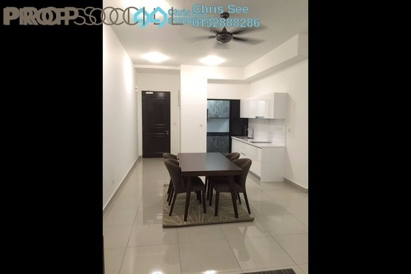 For Rent Condominium at Glomac Centro, Bandar Utama Leasehold Semi Furnished 3R/2B 2.3k
