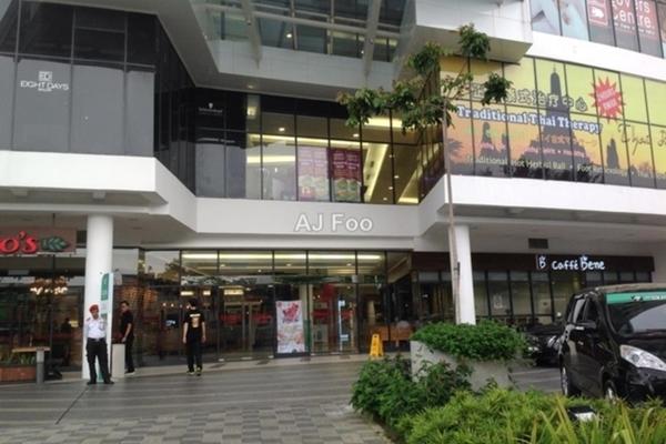 For Sale Office at Gamuda Walk, Kota Kemuning Freehold Unfurnished 0R/0B 630k