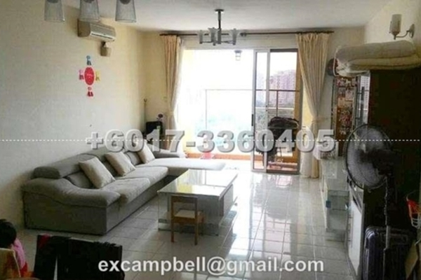 For Sale Condominium at Mont Kiara Bayu, Mont Kiara Freehold Semi Furnished 2R/2B 680k