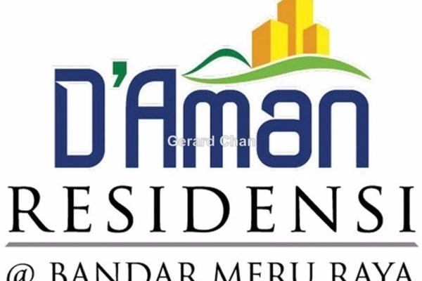 For Sale Apartment at D'Aman Residensi @ Bandar Meru Raya, Ipoh Freehold Semi Furnished 3R/2B 200k